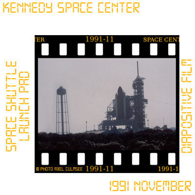NASA Kennedy Space Center launch pad slide November 1991