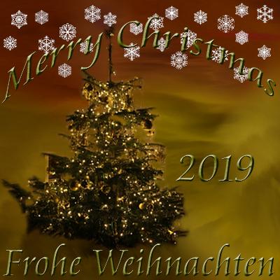 Weihnachten 2019 Merry Christmas
