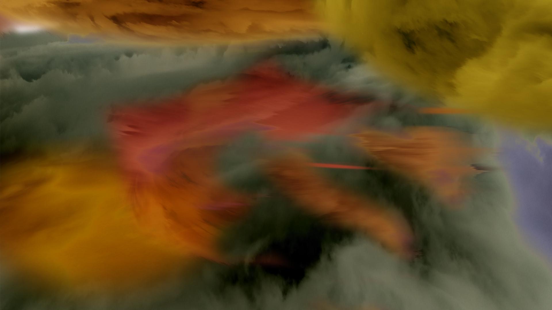 rainbow nebula Psi sector storm area