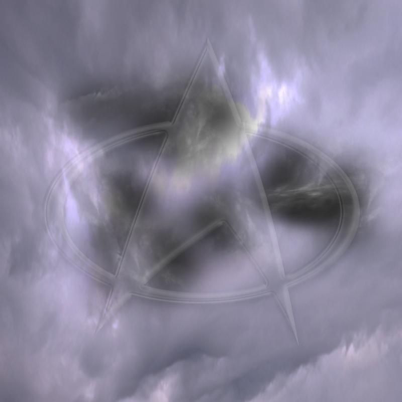 insignia light violet clouds