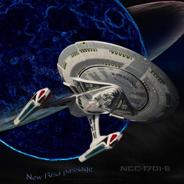 Enterprise-E New Risa passage