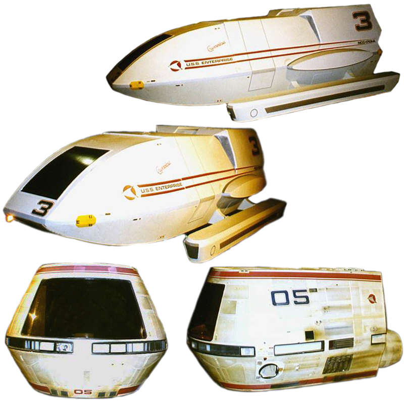 shuttle Copernicus and Travel Pod