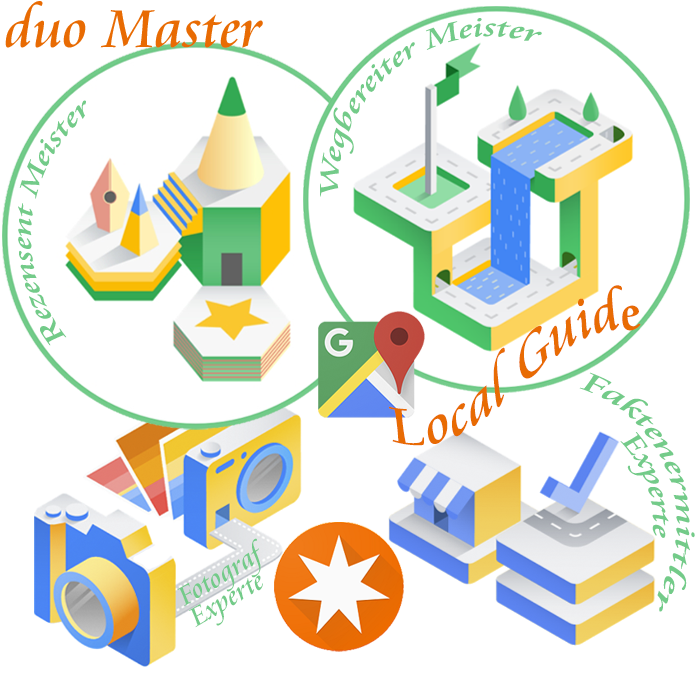 Google Maps Local Guide duo-master
