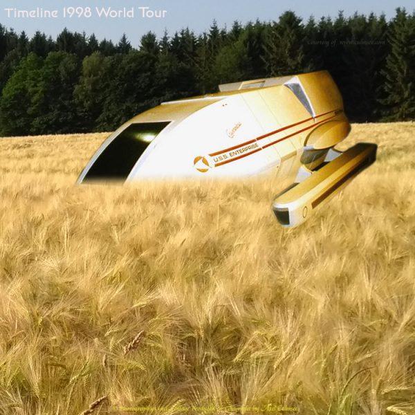 shuttle forced field landing timeline Star Trek World Tour Duesseldorf 1998
