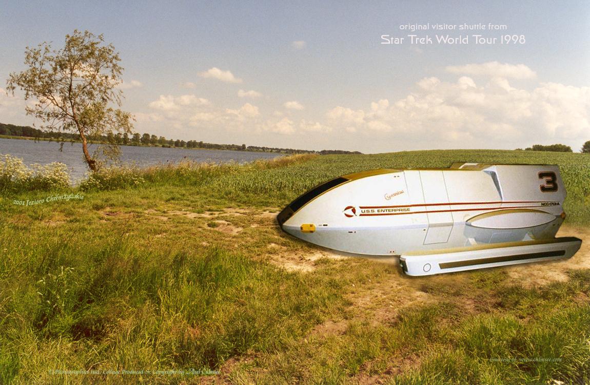 Shuttle Copernicus visits Jezioro Chelmzynskie