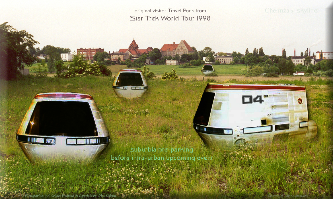 Travel Pods timeline STWT 1998 suburbia pre-parking before intra-urban upcoming event