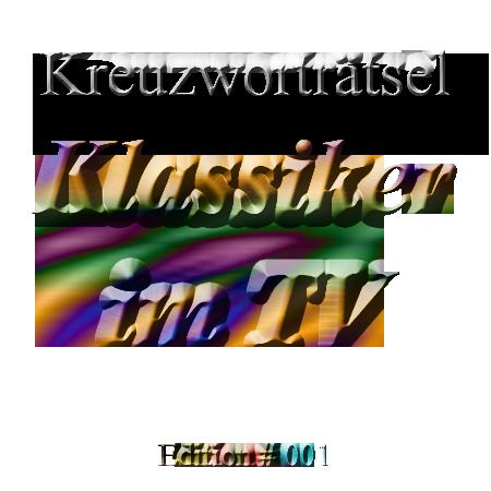 Klassiker im TV Kreuzwortraetsel 01