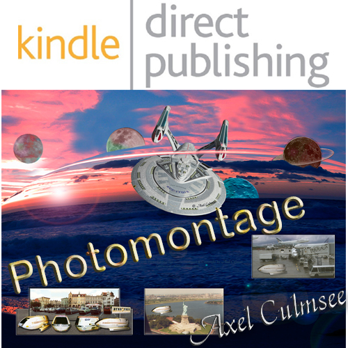Amazon kdp paperback by Axel Culmsee Trekkie collage composition