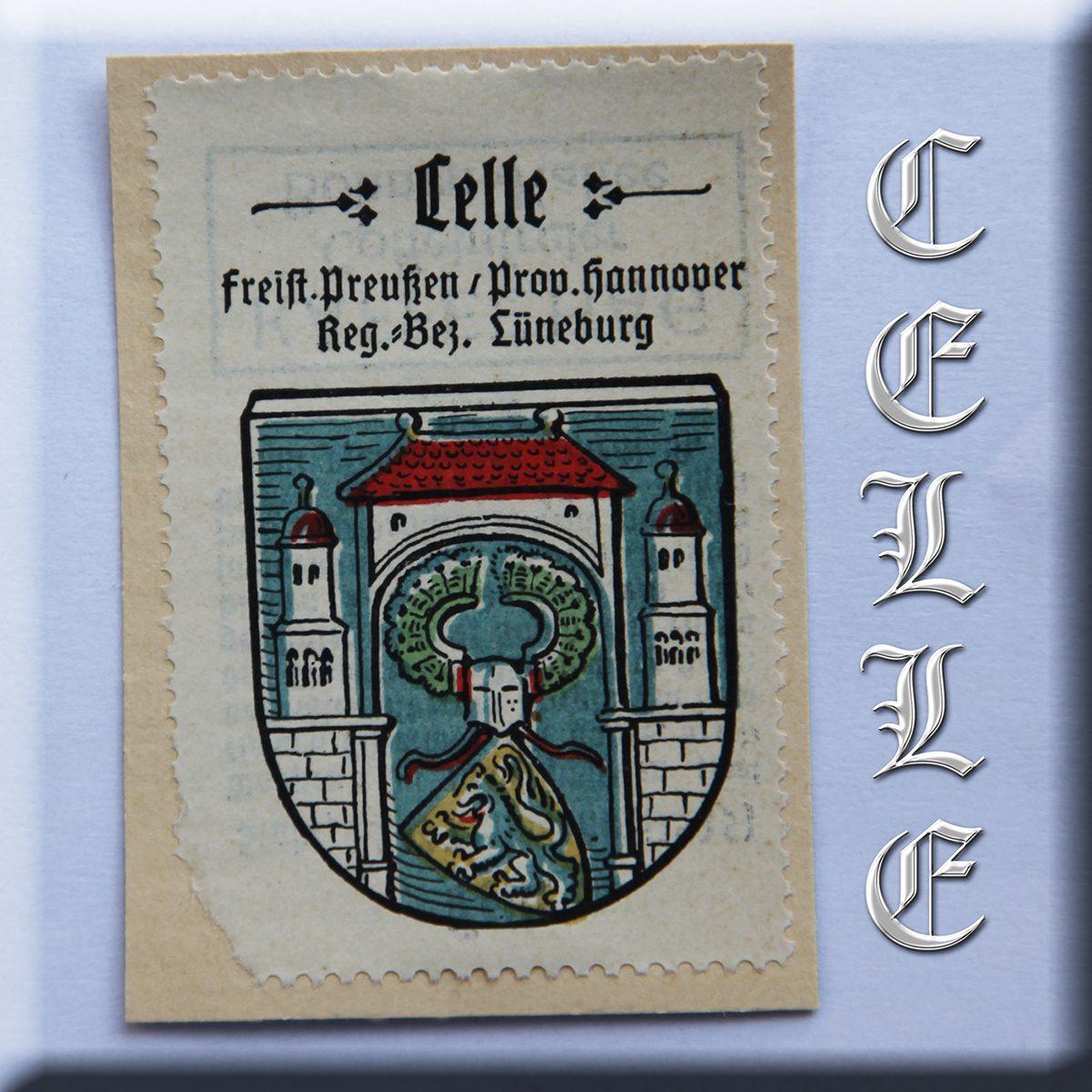Celle Wappen-Marke