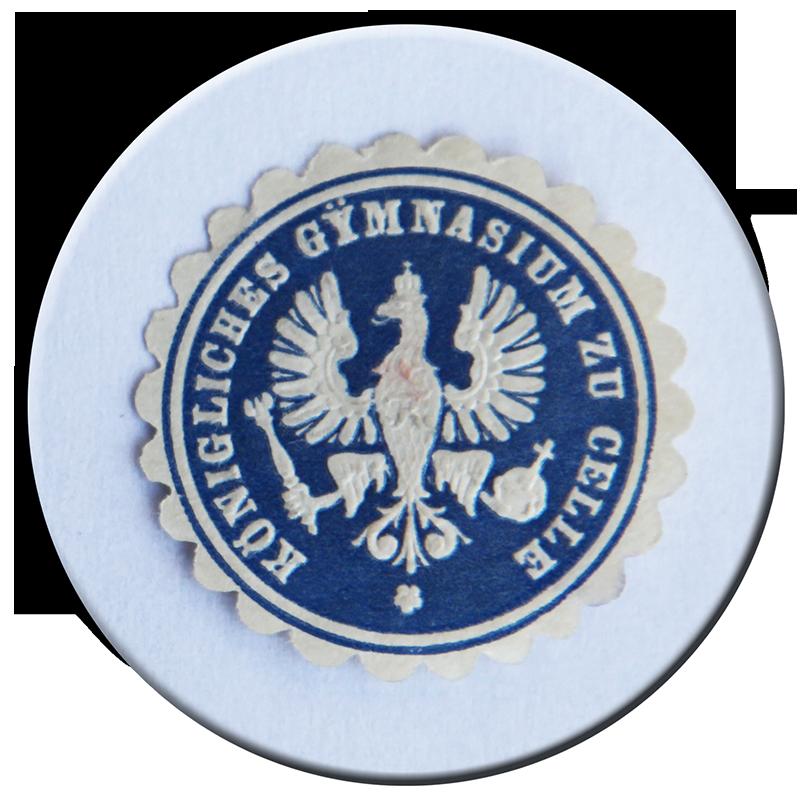 Koenigliches Gymnasium Celle Siegelmarke