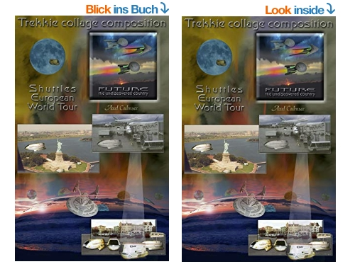 Amazon eBook (look inside) by Axel Culmsee Trekkie collage composition
