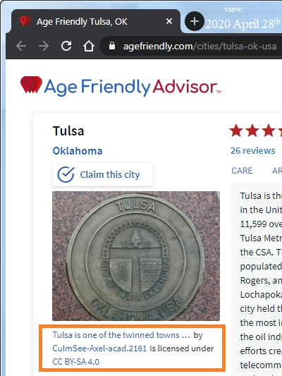 Age Friendly Advisor Tulsa Celle
