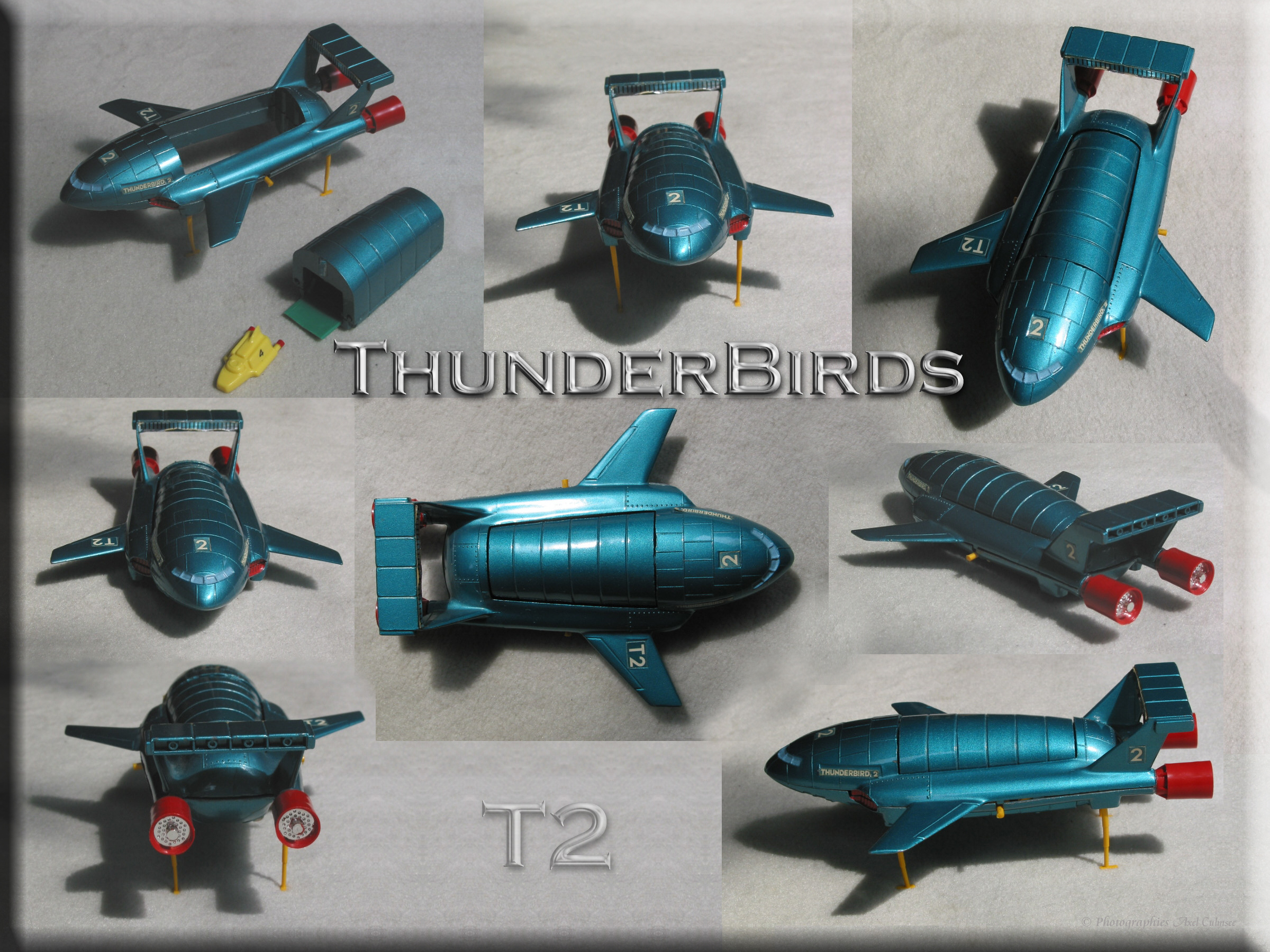 Thunderbird T2 from series Thunderbirds UK 1964-1966
