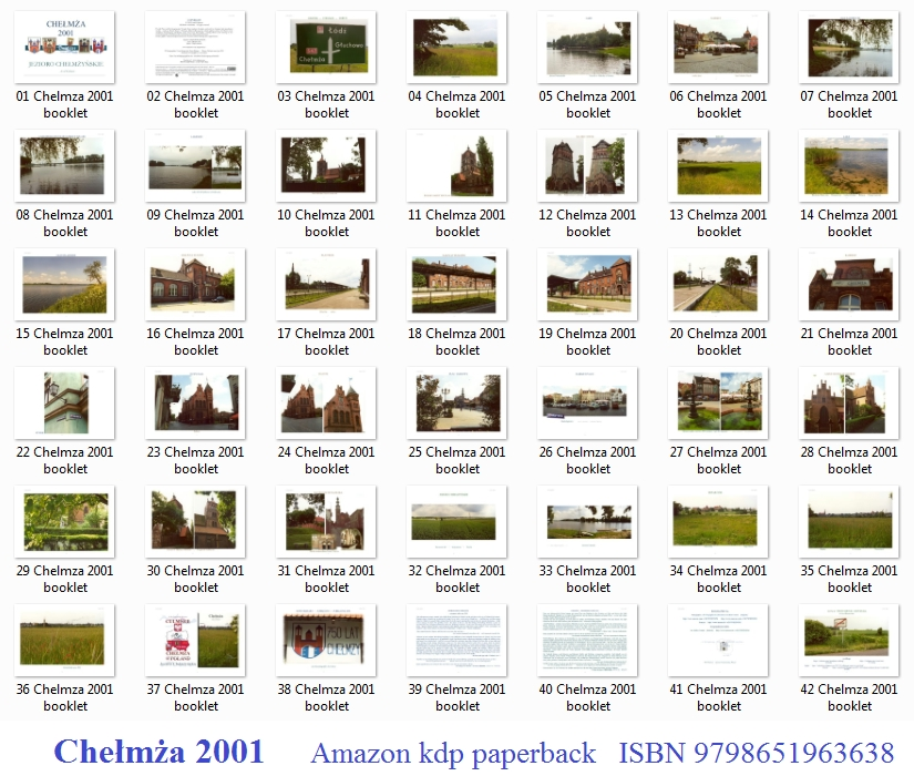 miniatures pages Amazon kdp Chelmza 2001 photographies by Axel Culmsee, survey