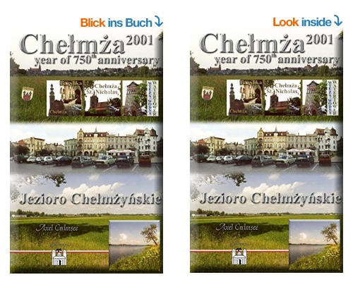 Chelmza 2001, Amazon paperback and kindle eBook by Axel Culmsee