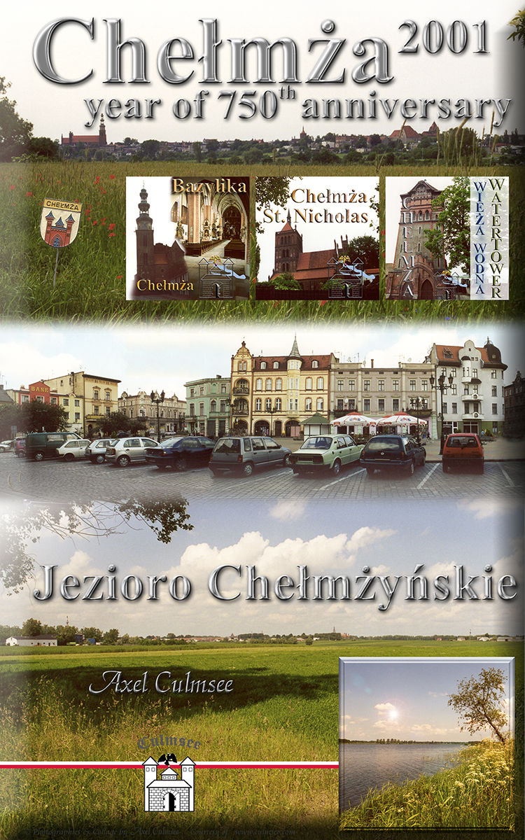 Chelmza 2001, Amazon kindle eBook, Cover, photographies by Axel Culmsee
