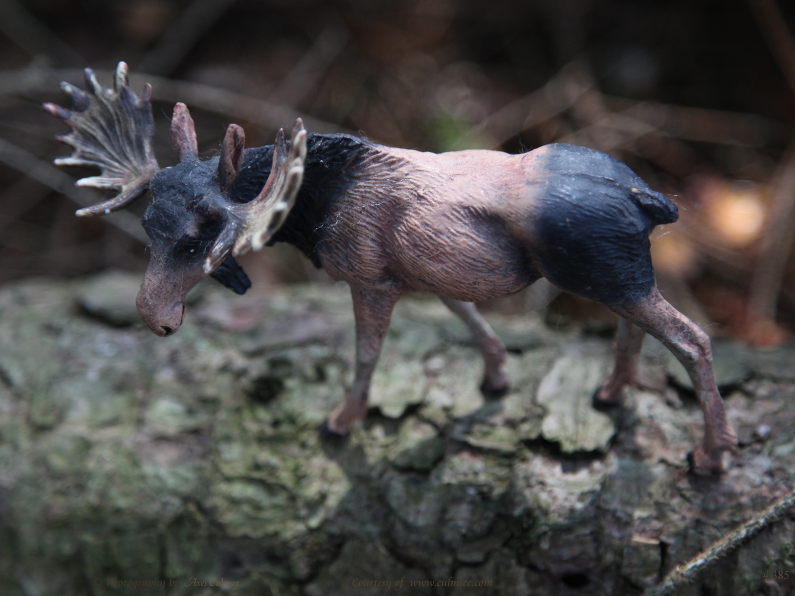 Elch / Elk, Moose (Massefigur, Elastolin)