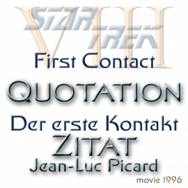 Quote Star Trek VIII