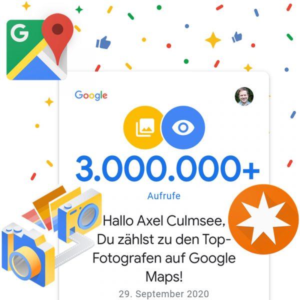 Google Maps Local Guide Fotograf-Experte 3000k views