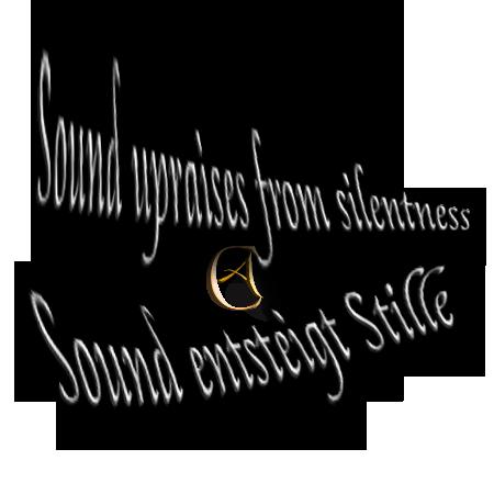 Sound entsteigt Stille - Sound upraises silentness