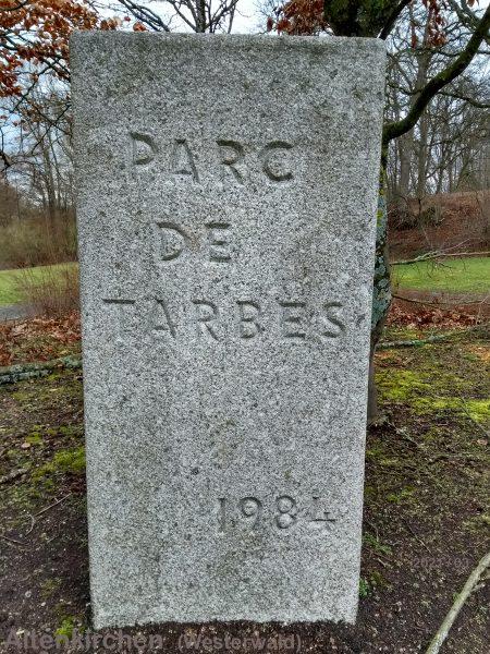 Altenkirchen im Westerwald - Parc de Tarbes - Eingang