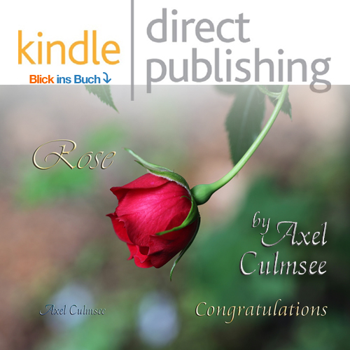 Amazon kdp booklet von Axel Culmsee Rose Congratulations