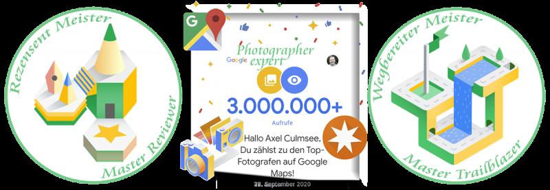 Local Guide Rezensent-Wegbereiter-Meister Fotograf-Experte 3M views Google Maps