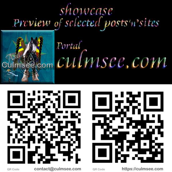 showcase Culmsee.com with QR-Codes