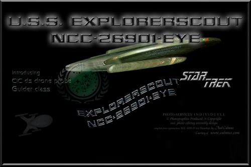 U.S.S. EXPLORERSCOUT NCC-26901-EYE