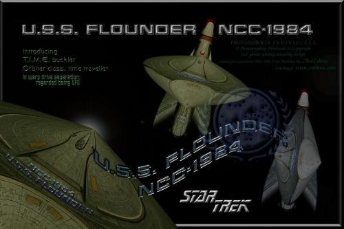 U.S.S. FLOUNDER NCC-1984