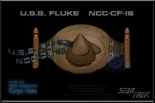 U.S.S. FLUKE NCC-CF-18