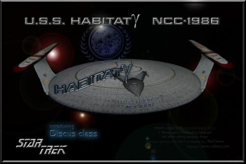 U.S.S. HABITAT NCC-1986