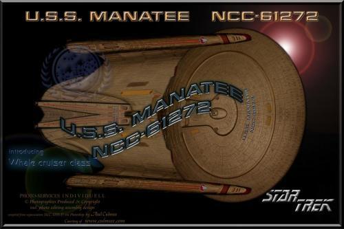 U.S.S. MANATEE NCC-61272