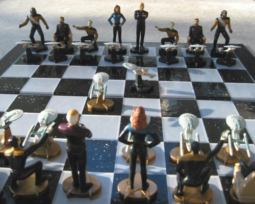 TNG-Schachspiel flat-view detail